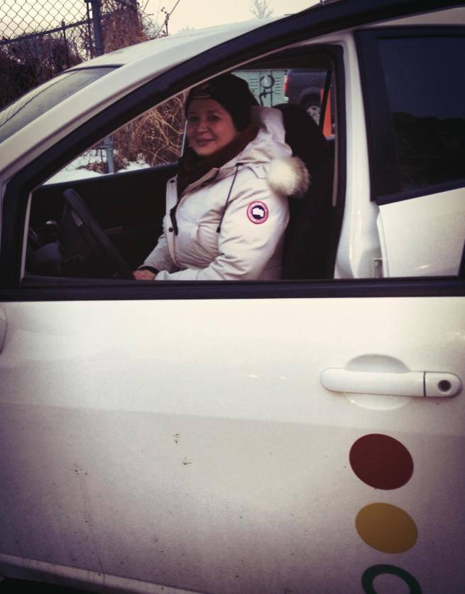 SCC carshare member Lesley