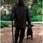 Farley Mowat Statue at the University of Saskatchewan