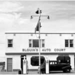 George Blouin's Auto Court Photograph B-2346 by Leonard A. Hillyard courtesy Saskatoon Public Library- Local History Room.