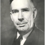 University of Saskatchewan, University Archives & Special Collections, Photograph Collection A-8523. Head and Shoulders of George E. Britnell, University of Saskatchewan Professor of Economics and Political Science, 1960.