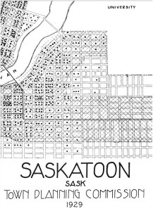 1929 Street Car Lines of the Varsity View Neighbourhood.
