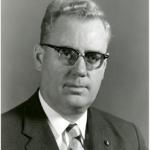 University of Saskatchewan, University Archives & Special Collections, Photograph Collection, A-3285. J.F. Leddy- Portrait, n.d.