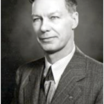 University of Saskatchewan, University Archives & Special Collections, Photograph Collection, A-3936. Portrait of V.E. Graham, 1945.