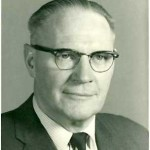 University of Saskatchewan, University Archives & Special Collections, Photograph Collection A-3310. Head and shoulders of A.C. (Colb) McEown, first Vice-President (Acad), University of Saskatchewan, 1961.