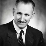 University of Saskatchewan, University Archives & Special Collections, Photograph Collection A-8700. Head and shoulders of J.B. Kirkpatrick, University of Saskatchewan Dean of Education 1956-1976. Picture created in 1968