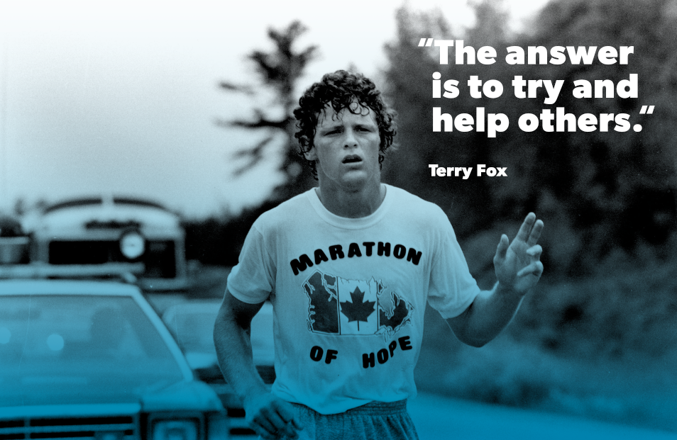 Terry Fox graphic